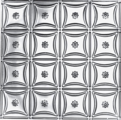 Custom Color - 24 in. x 24 in. - Tin Ceiling Tile - Powder Coated