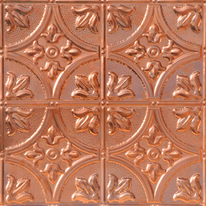Tiptoe Copper Ceiling Tile