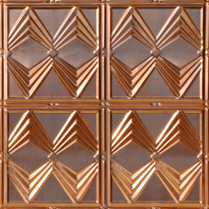 Diamond Jim Copper Ceiling Tile
