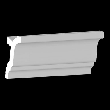 DIY Foam Crown Molding Pack 3.5 in Wide 95.5 in Long (32 ln. ft. / pack) - #CC 352