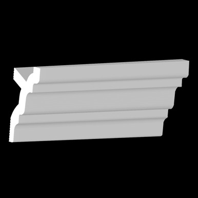 DIY Foam Crown Molding Pack 3.5 in Wide 95.5 in Long (32 ln. ft. / pack) - #CC 353
