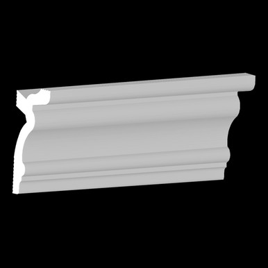 DIY Foam Crown Molding Pack 3.5 in Wide 95.5 in Long (32 ln. ft. / pack) - #CC 354