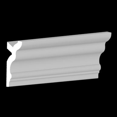 DIY Foam Crown Molding Pack 3.5 in Wide 95.5 in Long (32 ln. ft. / pack) - #CC 355