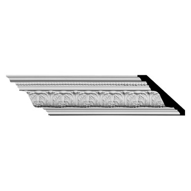 Palmetto - Urethane Crown Moulding - Pack of 4 - #MLD03X04X06PA