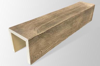 Faux Wood Beams - 18 ft. Length & 4 in. Width