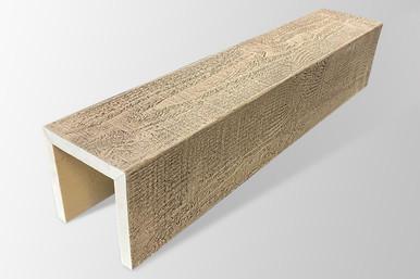 Faux Wood Beams - 20 ft. Length & 18 in. Width