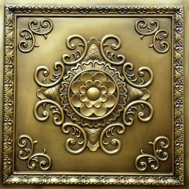 Faux Tin Ceiling Tile - 24 in x 24 in - #DCT 08