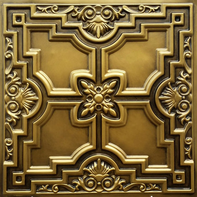 Faux Tin Ceiling Tile - 24 in x 24 in - #DCT 16