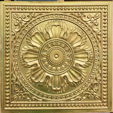Faux Tin Ceiling Tile - 24  in x 24 in - #DCT 17