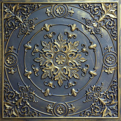 Faux Tin Ceiling Tile - 24 in x 24 in - #DCT 18