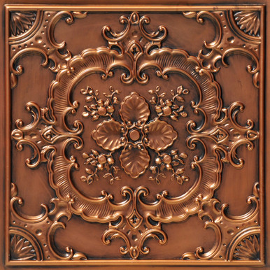 Faux Tin Ceiling Tile - 24 in x 24 in - #DCT 19