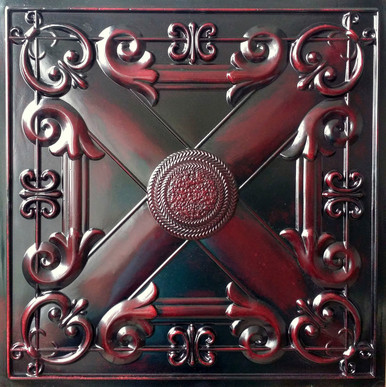 Faux Tin Ceiling Tile - 24 in x 24 in - #DCT 22