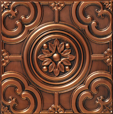 Faux Tin Ceiling Tile - 24 in x 24 in - #DCT 50