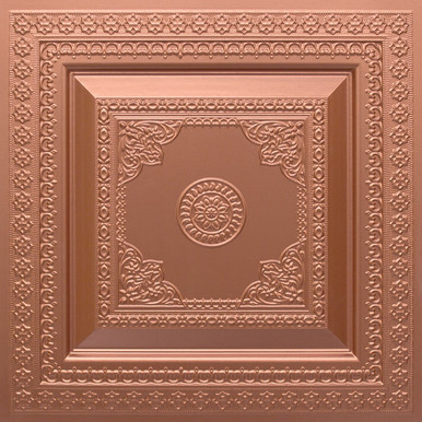 Faux Tin Ceiling Tile - 24 in x 24 in - #282