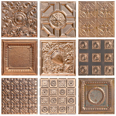 Metal Sample Pack of 4 Copper Finishes