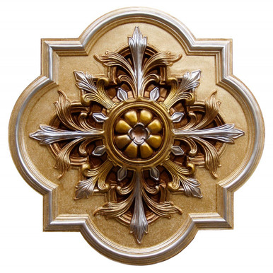 FAD Hand Painted Ceiling Medallion - #CCMF-127-2