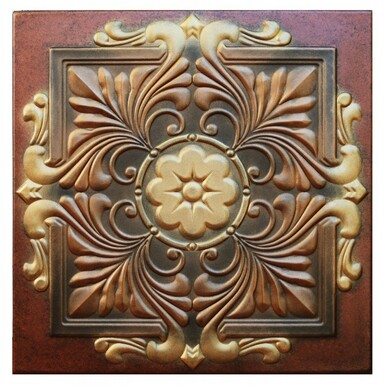 Victorian - FAD Hand Painted Ceiling Tile - #CTFS-101