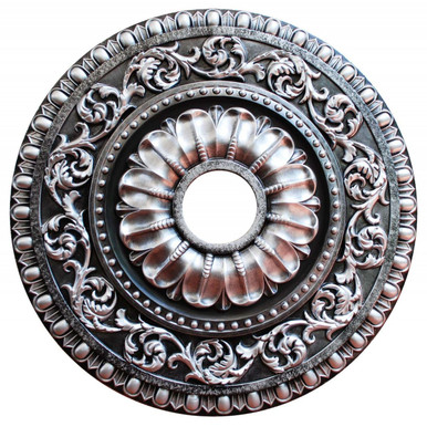Northern Shrubberies - FAD Hand Painted Ceiling Medallion - #CCMF-099-3