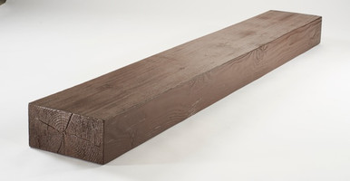 Fireplace Faux Wood Mantels - 8 ft. Length & 4 in. Height