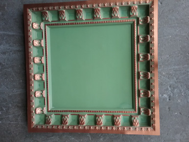 LOT 10 A -PVC-236 (160 SQ FT) 40 PCS Copper Patina / DROP-IN