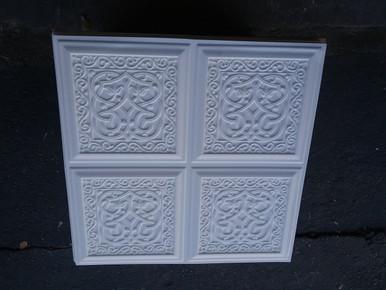 LOT # 45 A PVC # 231 (240 SQ FT) 60 PCS Matt White 24 x 24 Glue Up