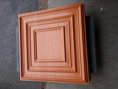 LOT # 64A PVC 222 (436 SQ FT) 109 PCS Cherry Wood 24 x 24 Glue Up or Drop In