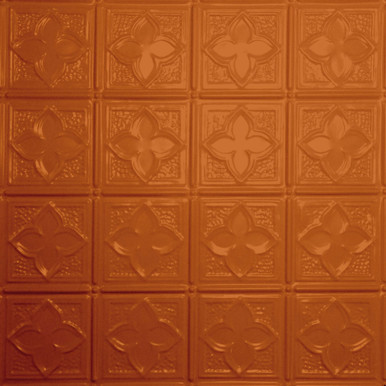 Clover - Powder Coated - Tin Ceiling Tile by Shanko - #203