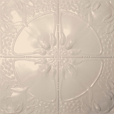 Poppy - Powder Coated - Tin Ceiling Tile by Shanko - #306