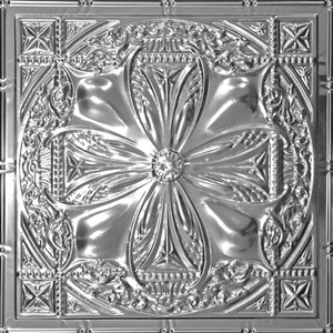 Renaissance Tin Plated Steel Ceiling Tile