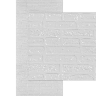 Brick MirroFlex 4x10 Glue Up PVC Wall Panels