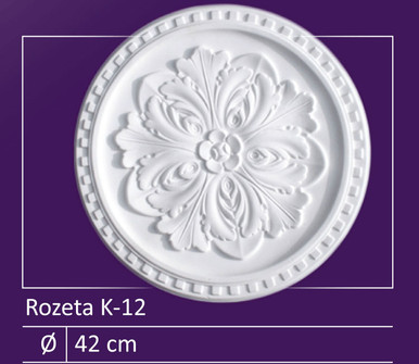 "K-12 - 17"" Ceiling Medallion"