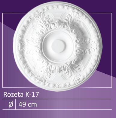 """K-17 - 19"""" Ceiling Medallion"""