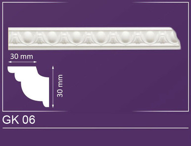"GK 06 - Crown Molding - 2"" Wide 7 ln. ft. Long"