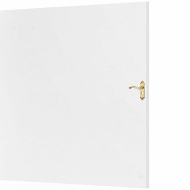 Gloss White - Door Skin - MirroFlex