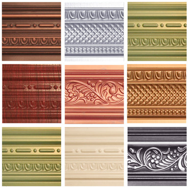 Faux Tin Cornice Sample Pack