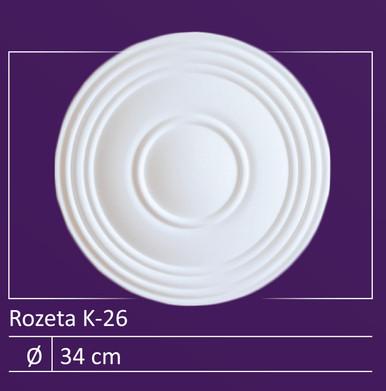 """K-26 - 13"""" Ceiling Medallion Pack"""