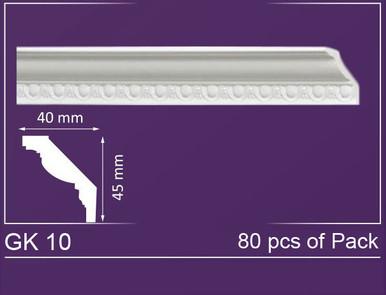 "GK 10 - Crown Molding Pack - 2"" Wide (525 ln. ft. / Pack)"
