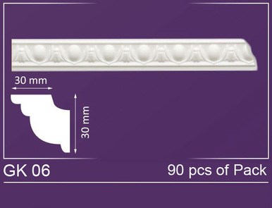 "GK 06 - Crown Molding Pack - 2"" Wide (591 ln. ft. / Pack)"