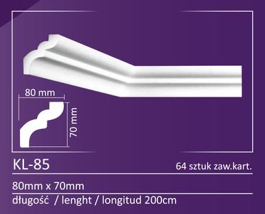 "KL-85 - Crown Molding Pack - 4"" Wide (420 ln. ft. / Pack)"
