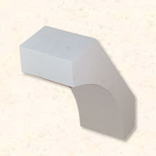 Faux Wood Corbels Smooth - 21 in. Length