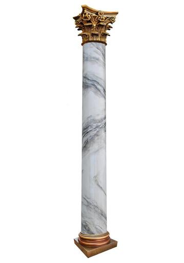 Roman Corinthian - FAD Faux Marble Finish Column - #CPF-008-RC