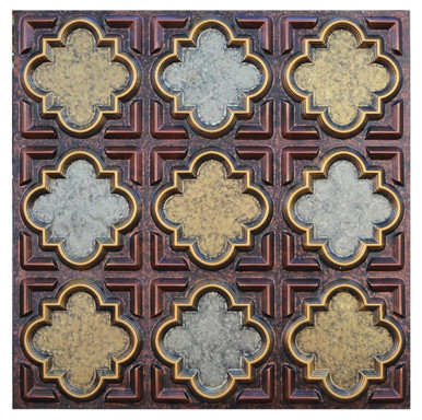Casablanca - FAD Hand Painted Ceiling Tile - #CTF-020