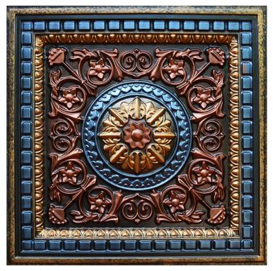 Da Vinci IV-A - FAD Hand Painted Ceiling Tile - #CTF-012-4A