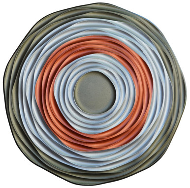 Galactica - FAD Hand Painted Contemporary Ceiling Medallion 27 in - #CCMF-151-2