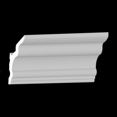 DIY Vaulted Foam Crown Molding - 4.5 in Wide 95.5 in Long - #CC 455V