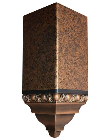 FAD Hand Painted Crown Molding - Inside Corner Block -#CMCBF-001-2