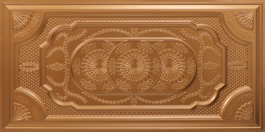Faux Tin Ceiling Tile - Drop In - 24 in x 48 in - #307