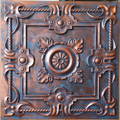 Faux Tin Ceiling Tile - 24 in x 24 in - #DCT 29