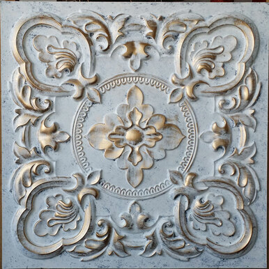 Gaby - Faux Tin Ceiling Tile - 24 in x 24 in - #DCT 30
