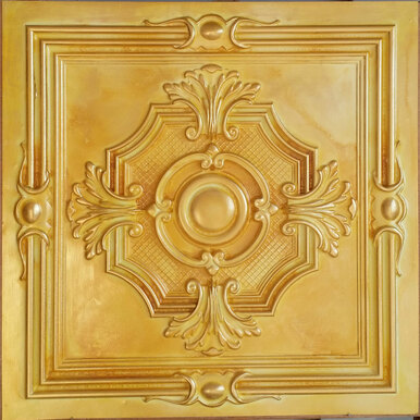 Faux Tin Ceiling Tile - 24 in x 24 in - #DCT 38